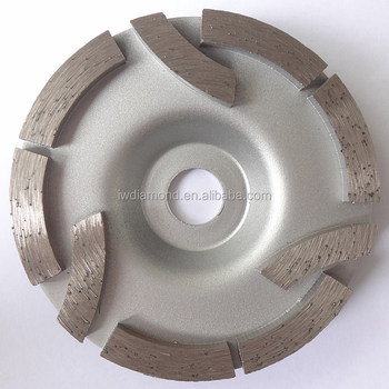 "4"" inch diamond grinding wheel for concrete granite stone"