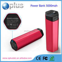 Factory supply promotion gift pocket size easy carry power bank 5000mah