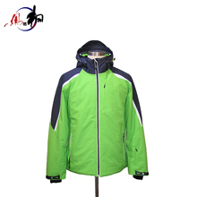 Top Quality red winter windproof men ski coat