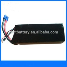 RC jet engine lipo battery 6S 22.2v 3300mah 30C T-REX 500 RC helicopter battery with EC3 connector