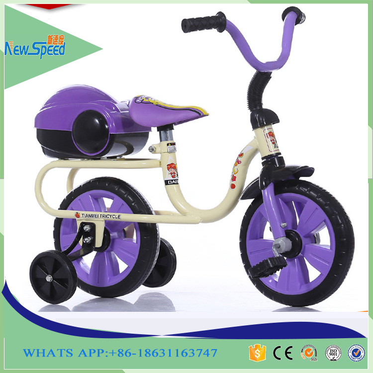 new model baby tricycle factory wholesale children bicycle 4 wheels kids tricycle