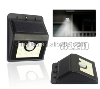 New Design 2.5w mini solar powered led light outdoor for gate/yard/path