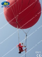 PVC Material sky dancer balloon / advertising helium balloon for sale