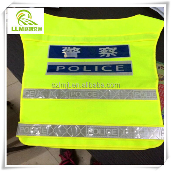 Best price reflective warning vest for road safety & roadwork