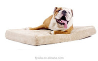 Memory Foam Orthopedic Dog Bed with Removable Waterproof Velour Cover