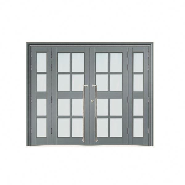 China alibaba security plain steel door