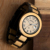 2018 Luxury watches men wrist handmade wood watch japan movt quartz watch stainless steel back