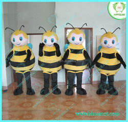 HI CE hot sale Bee mascot costume Christmas bee costume cartoon bee mascot