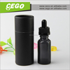 Stock essentail oil bottle dropper with tube, glass dropper bottle, boston round shape glass dropper bottle for e-juice