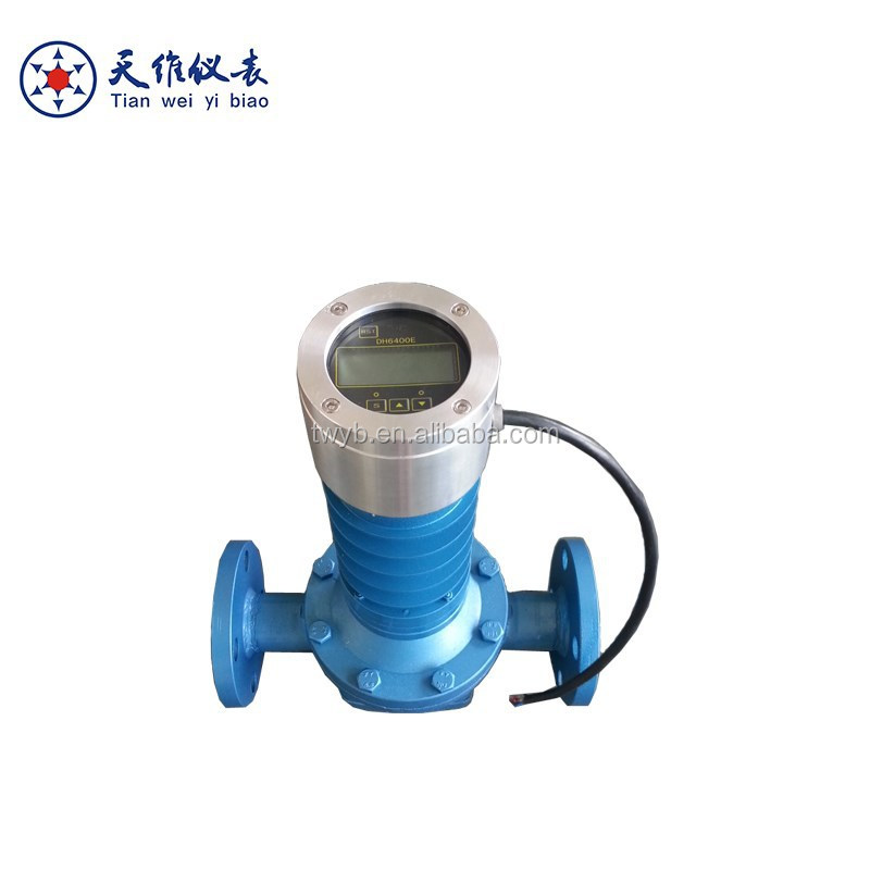 PD heating oil flow instrument with signal output