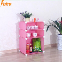 Pink Kitchen storage holders and Rack with PP plastic and wire material (FH-AL067)