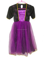 Fancy Halloween party dress cosplay costumes for kid