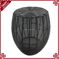 S&D modern PE rattan handwoven adjustable storage stool