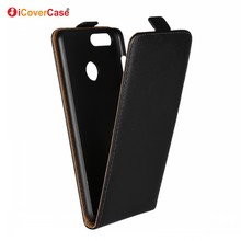 Up and Down Flip Cover Leather Phone Case For Huawei Honor 7X Accessories Mobile