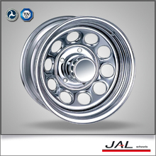 14 Inch Chrome Offroad Car Wheels 5/4.5 PCD Steel Rims for Sale