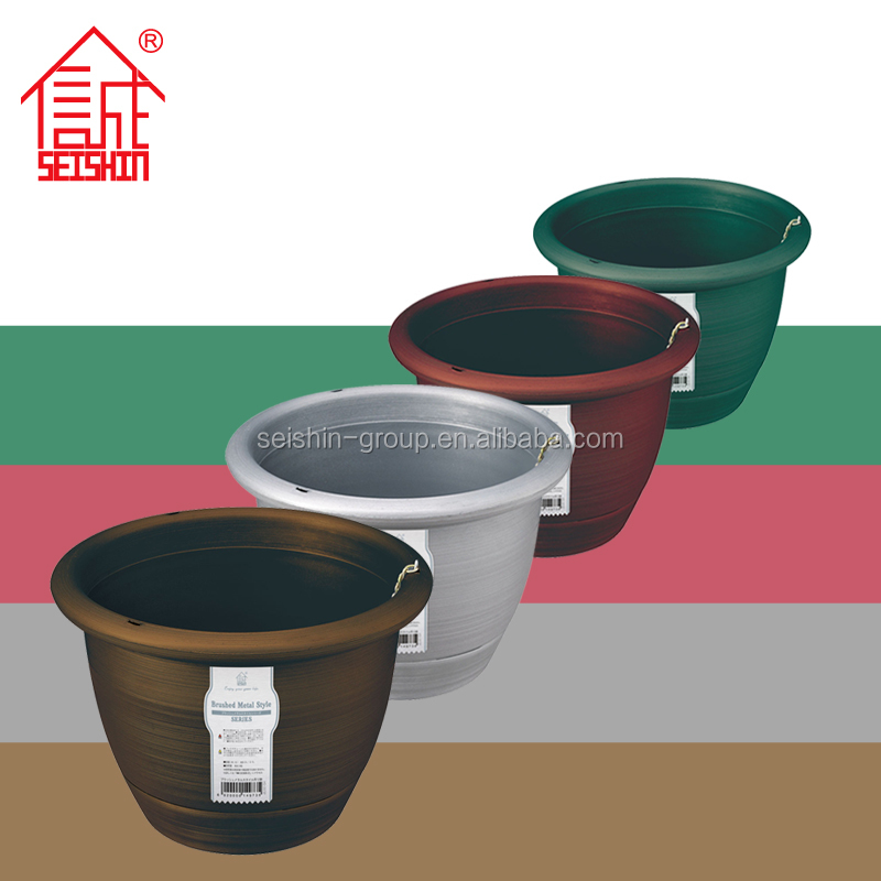 2016 Hot Selling PP Plastic Material Hanging Flower Pot