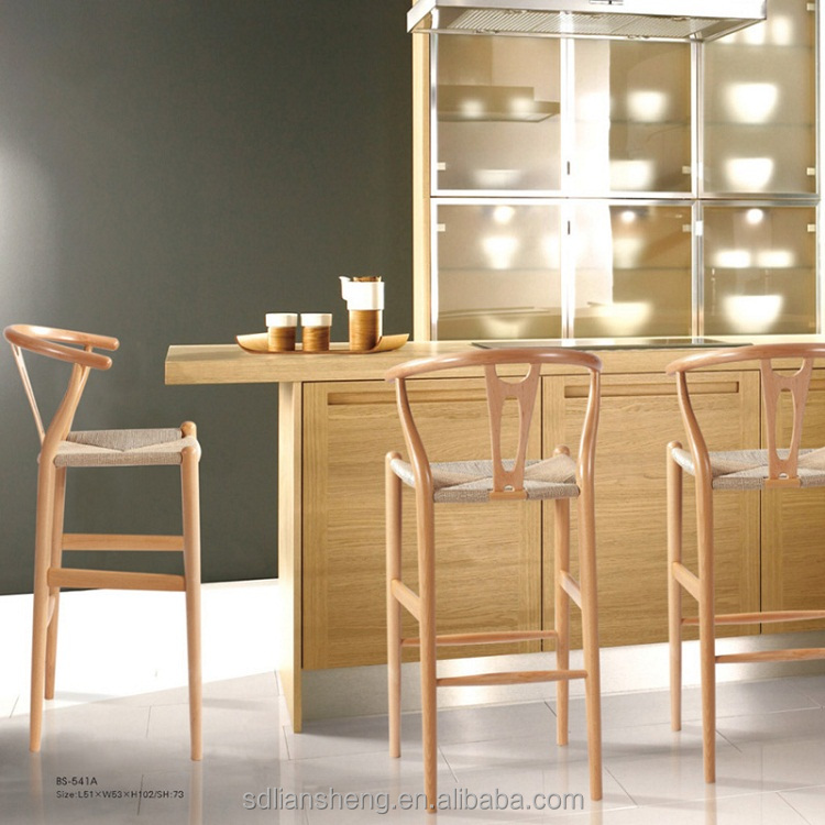 Buy wood high lounge banquet <strong>chair</strong> bar stools modern bar <strong>chairs</strong> from China