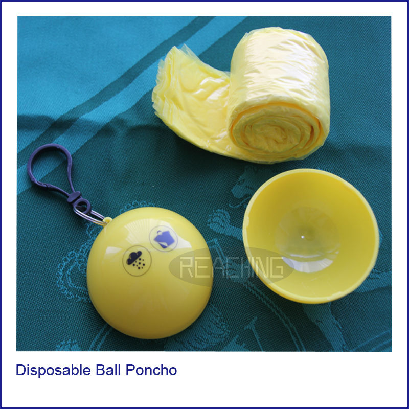 2014 New come Disposable Ball Poncho