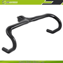 newest design carbon bicycle stem handlebar for road bike wholesale