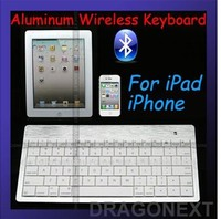 Hot Items Silver & White Mini Wireless Cell Phone Tablet PC Bluetooth Keyboard