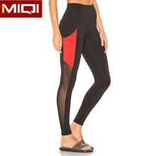 2018 Hot Selling Sexy Mesh Gym Fitness Leggings Great Stretch Sports Tights Yoga Pants For Women