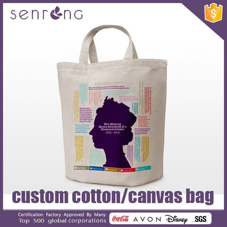 Cotton With Pvc Laminated Tote Bag Cotton Sling Cross Body Bag