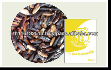High Quality New Crop Thai Black Glutinous Rice