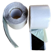 Moisture proof butyl mastic tape