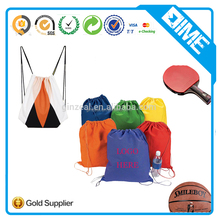 Customized Polyester Drawstring Rolling Backpack
