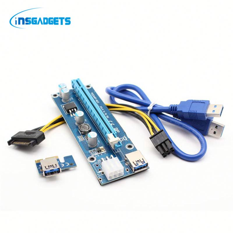 Pcie to serial and parallel converter card FRLh0t pci-e to 2pci converter card for sale