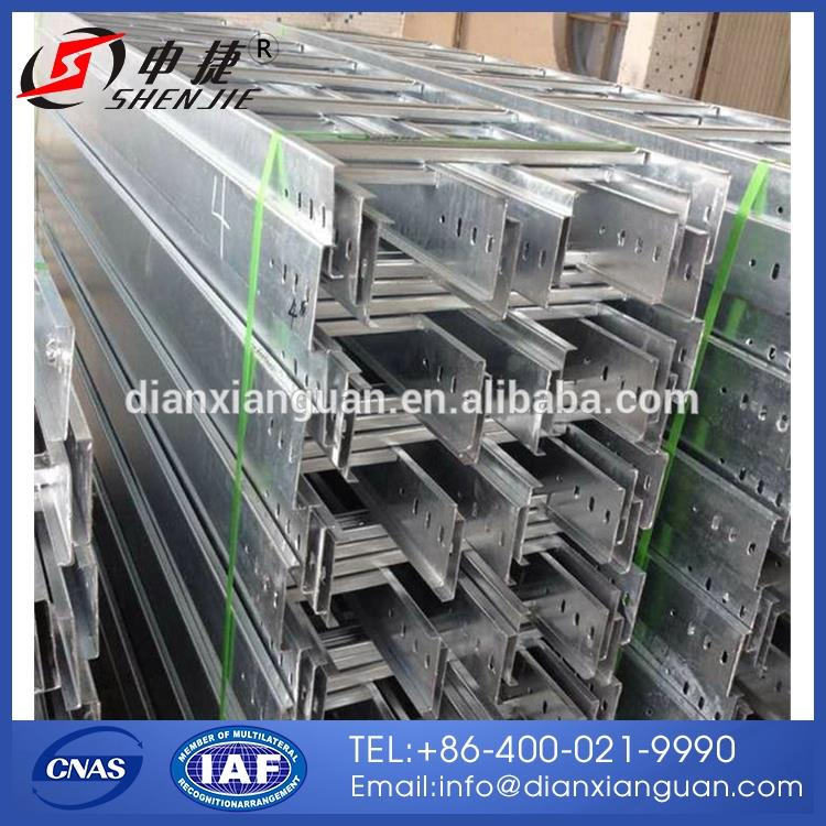Brand new 300*100 electro zinc hot dip galvanized perforated cable tray made in China