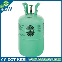 Freezer gas R417a with reasonable price and Superior quality for car and air conditioners