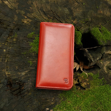 Folio opening mobile phone leather case,leather case for iphone