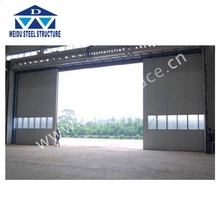 2017 hot sale self closing cold storage hangar warehouse workshop sliding door in dubai from China