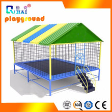 Create Fun Round Outdoor Trampoline with TUV GS certificate used trampolines for sale