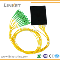 Fiber Optic 1*8 PLC Splitter for GPON/EPON Network