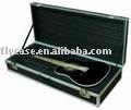 2013 brown music instrument case with specially design for instrument , with strong handle and safe locks
