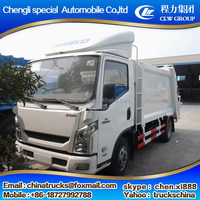 yuejin IVECO 4x2 rubbish body compactor garbage truck compressed garbage truck