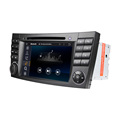 Ce/fcc certification and screen size 7 inch car audio player for E-class W211