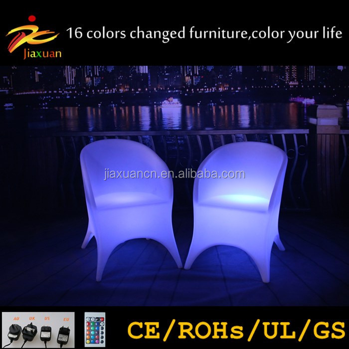 2017 New Style home garden,LED chair,luxury outdoor furniture