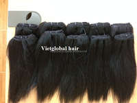 Full Cuticle Top Quality Virgin Remy 100 % Human Hair weft hair