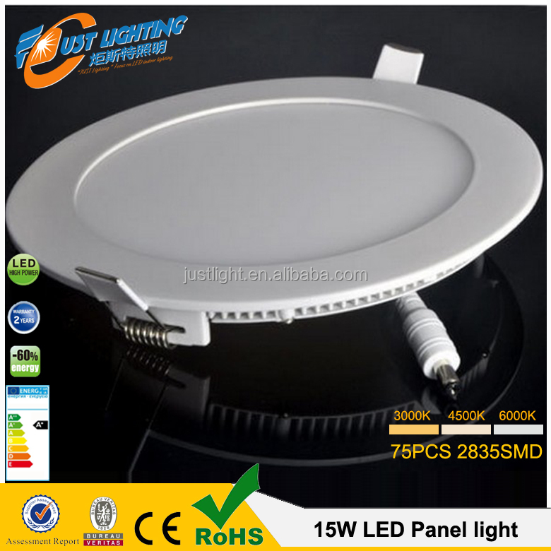 Factory price 3w4w6w12w slim round led ceiling panel light 18w for India market