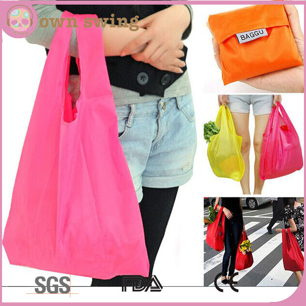 BAGGU Standard Reusable Shopping Bag/Shopping Tote Travel Recycle Bag/Portable Folding Storage Bag Grocery Bags