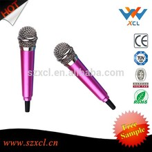 High Quality Wired MINI Karaoke Musical Instrument studio lapel condenser microphone