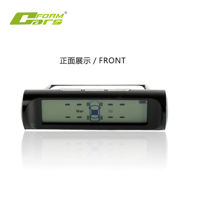 solar power car tpms external sensor tire pressure monitoring system