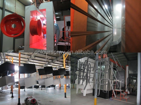 Electrostatic powder coating system Powder Coating booth