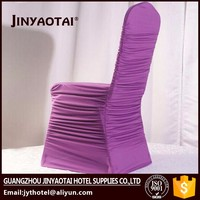printed Guangzhou spandex/nylon spandex table and chair covers wedding decoration