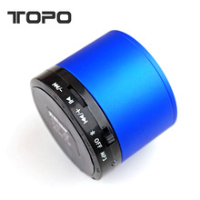 Universal Five color Small steel gun speaker Mini Portable LED Subwoofer TF Card wireless buletooth Audio in car
