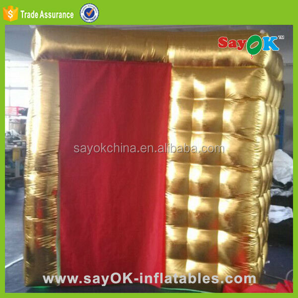 inflatable wedding custom made cheap photo booth tent kiosk sales