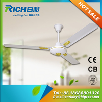 Indoor and outdoor electric water cooling fan metal blade ceiling fan